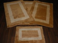 ROMANY GYPSYS WASHABLES GERMAN STYLES TRAVELLERS MATS THICK SETS OF 4 MATS/RUGS